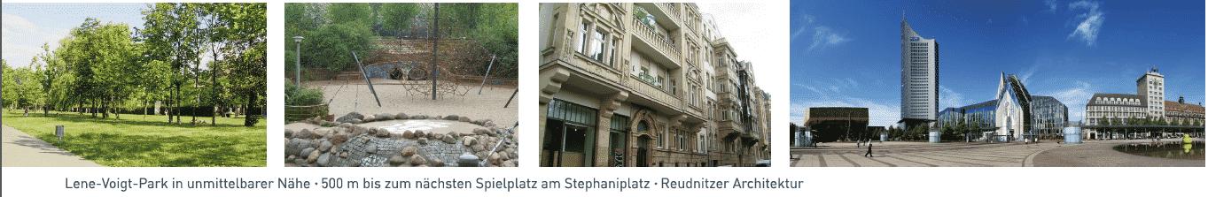 Der Stadtteil Reudnitz-Thonberg