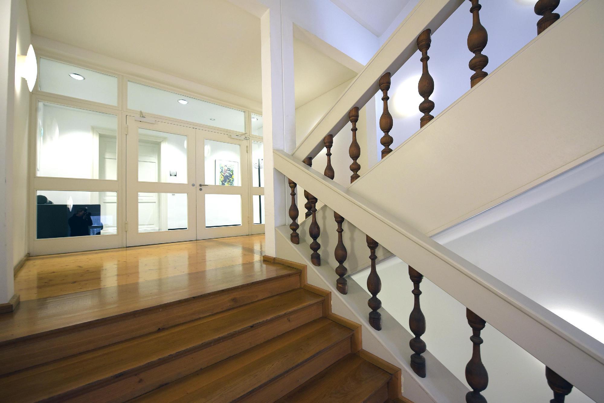 das repräsentative Treppenhaus
